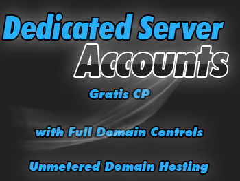 Bargain dedicated servers account